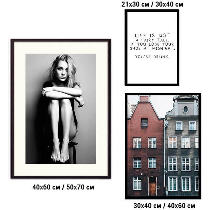 Набор из 3-х постеров Дом Корлеоне Коллаж Fashion №49 21х30 см 1 шт., 30х40 40х60 1шт.