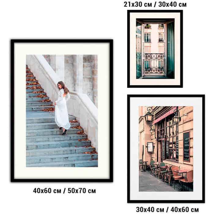 Набор из 3-х постеров Дом Корлеоне Коллаж Fashion №56 21х30 см 1 шт., 30х40 40х60 1шт.