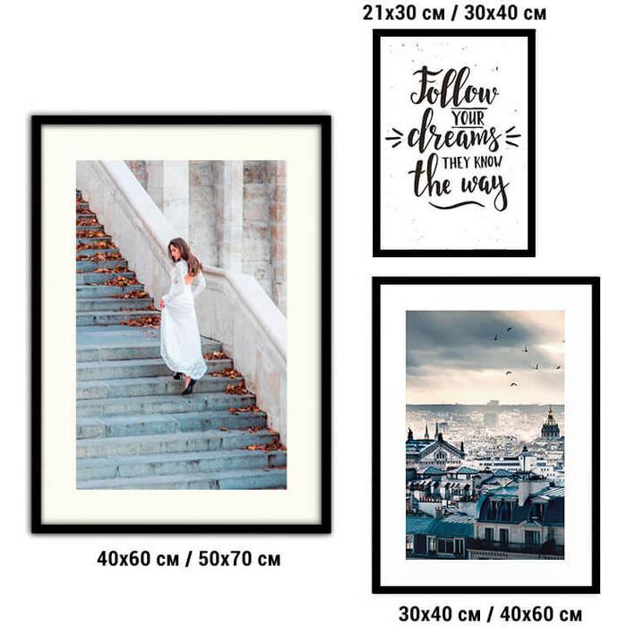 Набор из 3-х постеров Дом Корлеоне Коллаж Fashion №57 21х30 см 1 шт., 30х40 40х60 1шт.