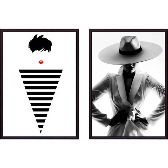 Набор из 2-х постеров Дом Корлеоне Коллаж Fashion №6 21х30 см 2 шт.