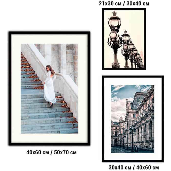 Набор из 3-х постеров Дом Корлеоне Коллаж Fashion №64 21х30 см 1 шт., 30х40 40х60 1шт.
