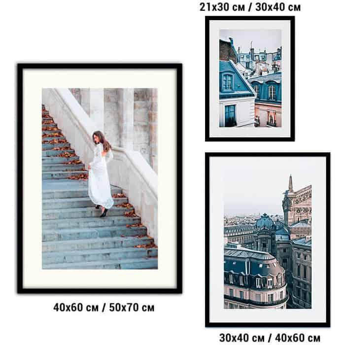 Набор из 3-х постеров Дом Корлеоне Коллаж Fashion №65 21х30 см 1 шт., 30х40 40х60 1шт.