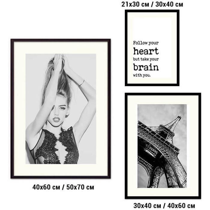 Набор из 3-х постеров Дом Корлеоне Коллаж Fashion №69 21х30 см 1 шт., 30х40 40х60 1шт.