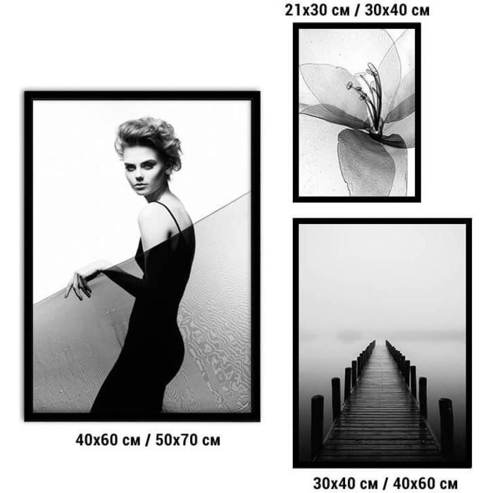 Набор из 3-х постеров Дом Корлеоне Коллаж Fashion №73 21х30 см 1 шт., 30х40 40х60 1шт.