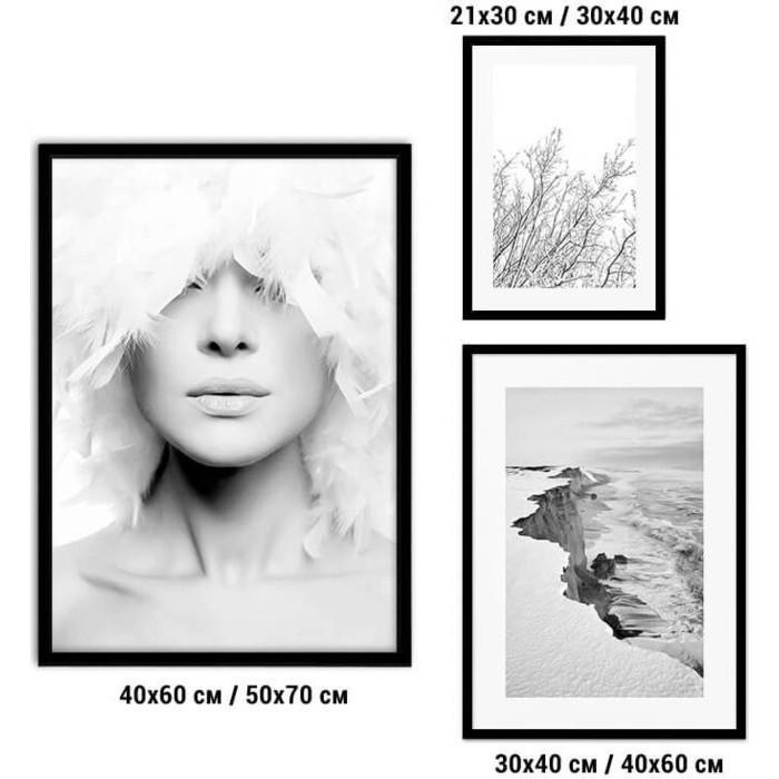 Набор из 3-х постеров Дом Корлеоне Коллаж Fashion №76 30х40 см 1 шт., 40х60 50х70 1шт.