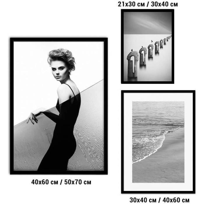Набор из 3-х постеров Дом Корлеоне Коллаж Fashion №77 30х40 см 1 шт., 40х60 50х70 1шт.
