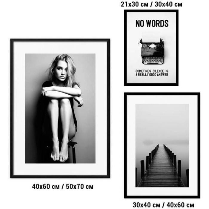 Набор из 3-х постеров Дом Корлеоне Коллаж Fashion №78 21х30 см 1 шт., 30х40 40х60 1шт.