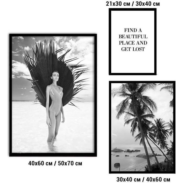 Набор из 3-х постеров Дом Корлеоне Коллаж Fashion №81 30х40 см 1 шт., 40х60 50х70 1шт.