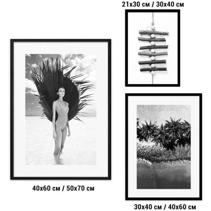 Набор из 3-х постеров Дом Корлеоне Коллаж Fashion №83 30х40 см 1 шт., 40х60 50х70 1шт.