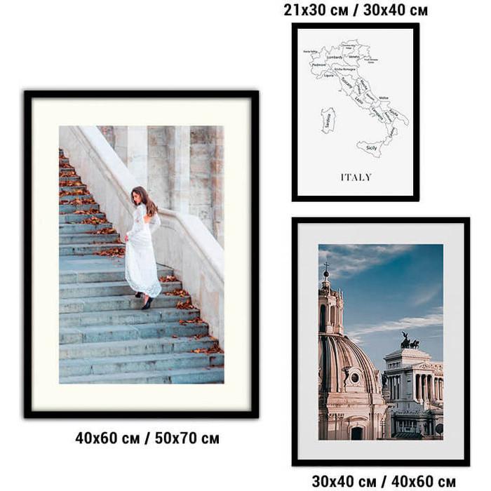 Набор из 3-х постеров Дом Корлеоне Коллаж Fashion №84 21х30 см 1 шт., 30х40 40х60 1шт.