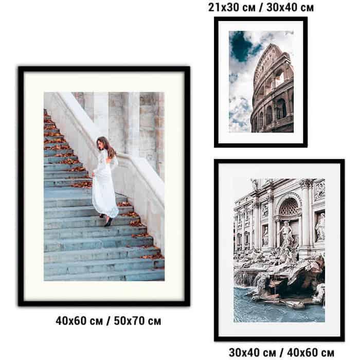 Набор из 3-х постеров Дом Корлеоне Коллаж Fashion №85 21х30 см 1 шт., 30х40 40х60 1шт.