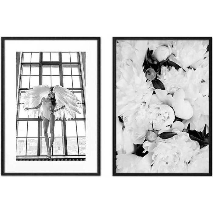 Набор из 2-х постеров Дом Корлеоне Коллаж Балет №1 21х30 см 2 шт.