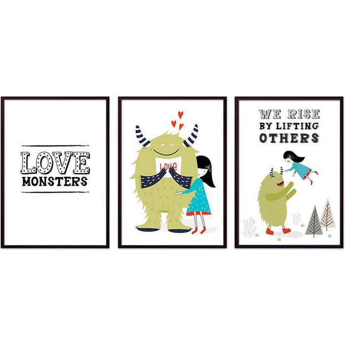 Набор из 3-х постеров Дом Корлеоне Коллаж Детский №104 21х30 см 3 шт. набор из 3 х постеров дом корлеоне коллаж детский 111 21х30 см 3 шт