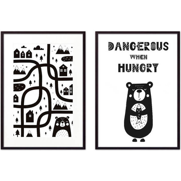 Набор из 2-х постеров Дом Корлеоне Коллаж Детский №22 50х70 см 2 шт. набор из 2 х постеров дом корлеоне коллаж детский 22 50х70 см 2 шт
