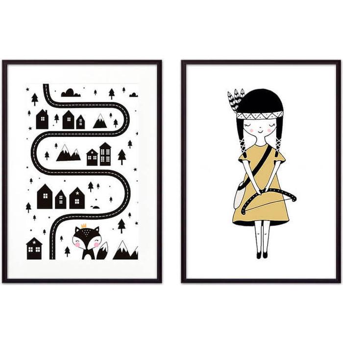 Фото - Набор из 2-х постеров Дом Корлеоне Коллаж Детский №28 30х40 см 2 шт. набор из 2 х постеров дом корлеоне коллаж детский 6 30х40 см 2 шт
