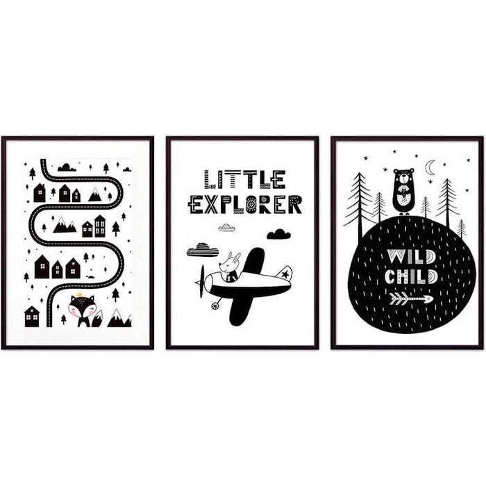 Набор из 3-х постеров Дом Корлеоне Коллаж Детский №88 21х30 см 3 шт. набор из 3 х постеров дом корлеоне коллаж детский 111 21х30 см 3 шт