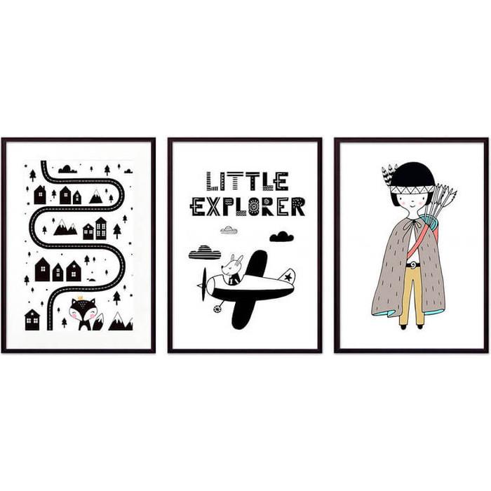 Набор из 3-х постеров Дом Корлеоне Коллаж Детский №89 21х30 см 3 шт. набор из 3 х постеров дом корлеоне коллаж детский 111 21х30 см 3 шт