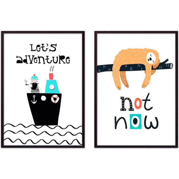 Набор из 2-х постеров Дом Корлеоне Коллаж Детский №9 50х70 см 2 шт. набор из 2 х постеров дом корлеоне коллаж детский 22 50х70 см 2 шт