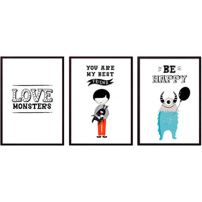 Набор из 3-х постеров Дом Корлеоне Коллаж Детский №97 21х30 см 3 шт. набор из 3 х постеров дом корлеоне коллаж детский 87 21х30 см 3 шт