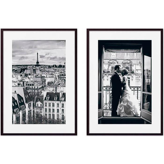 Набор из 2-х постеров Дом Корлеоне Коллаж Париж №12 40х60 см 2 шт.