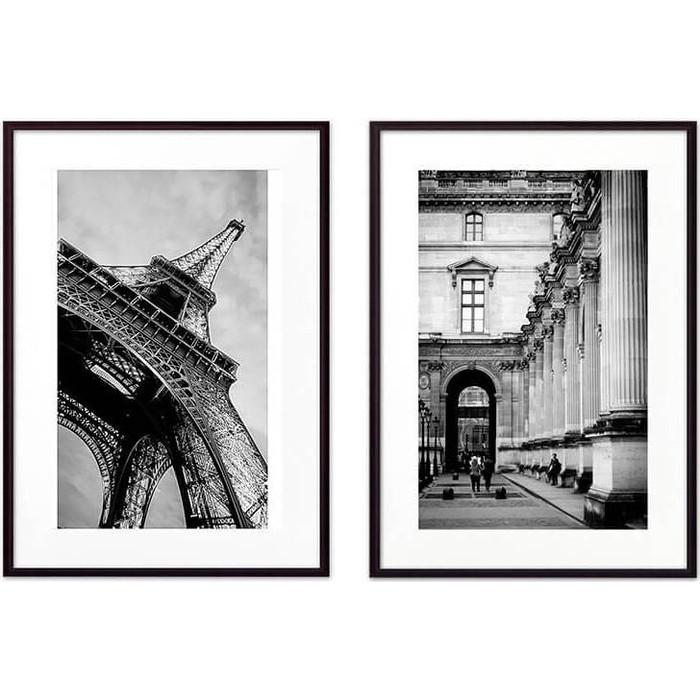 Набор из 2-х постеров Дом Корлеоне Коллаж Париж №18 30х40 см 2 шт.