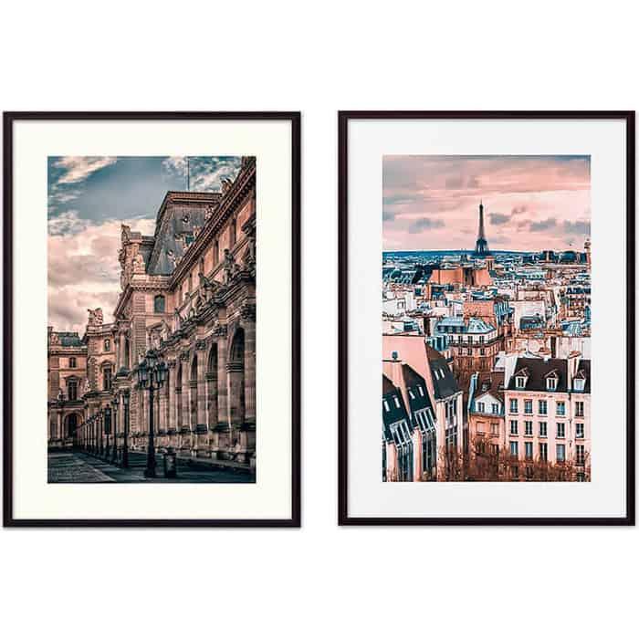 Набор из 2-х постеров Дом Корлеоне Коллаж Париж №6 30х40 см 2 шт.
