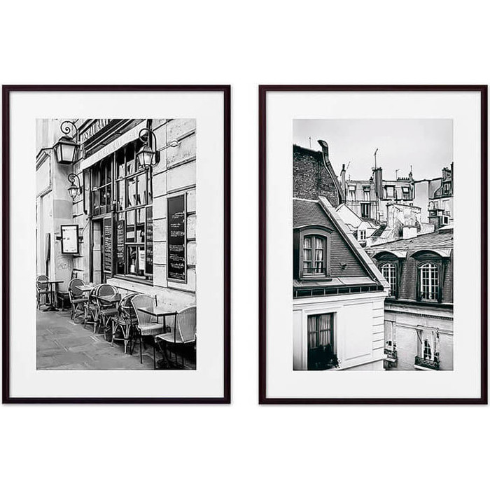Набор из 2-х постеров Дом Корлеоне Коллаж Париж №9 30х40 см 2 шт.