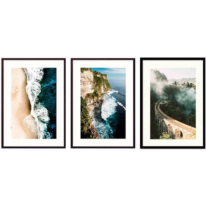 Набор из 3-х постеров Дом Корлеоне Коллаж Природа №159 30х40 см 3 шт. набор из 3 х постеров дом корлеоне коллаж природа 143 30х40 см 3 шт