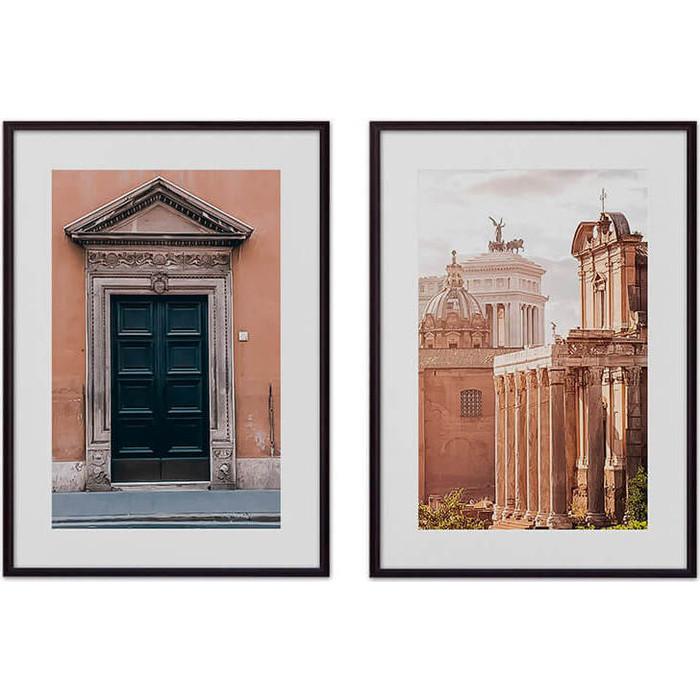 цены Набор из 2-х постеров Дом Корлеоне Коллаж Рим №7 30х40 см 2 шт.