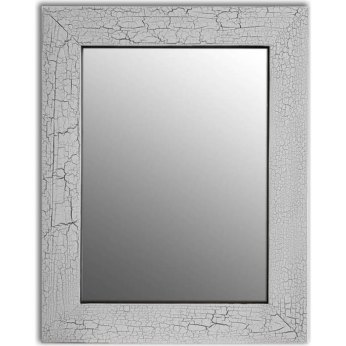 Настенное зеркало Дом Корлеоне Кракелюр Серый 75x110 см