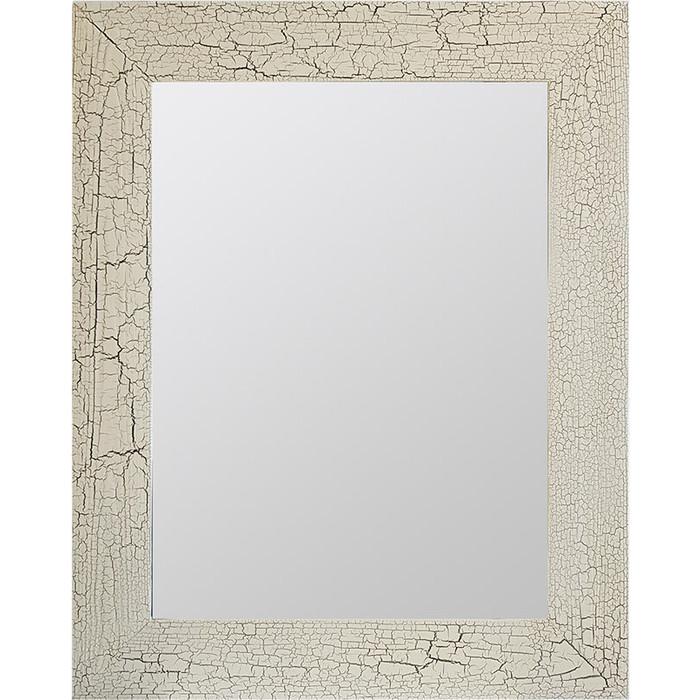 Настенное зеркало Дом Корлеоне Кракелюр Слоновая кость 80x80 см