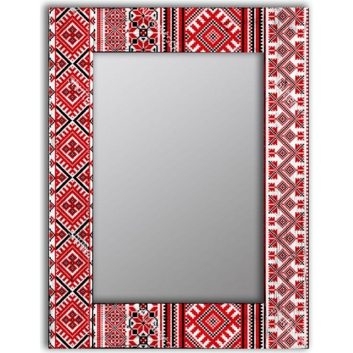 Настенное зеркало Дом Корлеоне Красная заря 65x65 см