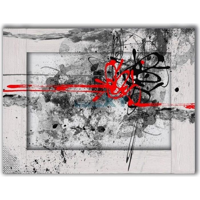 Картина с арт рамой Дом Корлеоне Красная нить 70x90 см