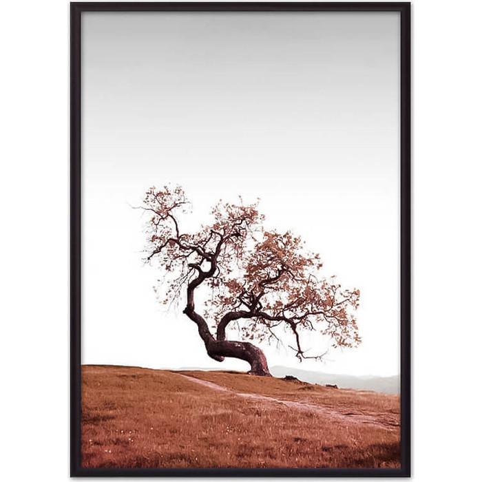 Постер в рамке Дом Корлеоне Красное дерево 21x30 см