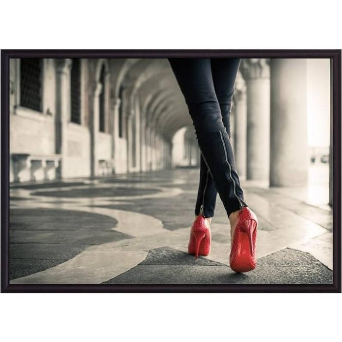 Постер в рамке Дом Корлеоне Красные туфли 50x70 см
