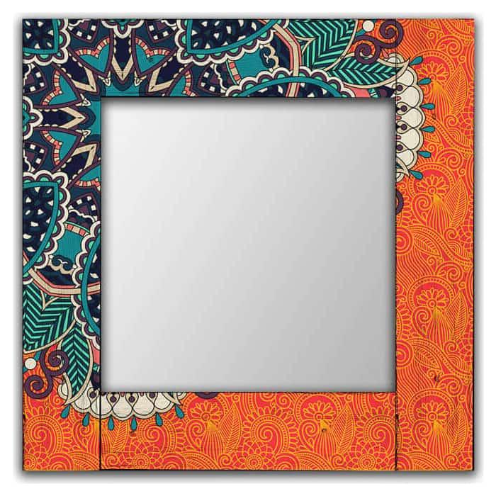 Настенное зеркало Дом Корлеоне Крозе 80x80 см