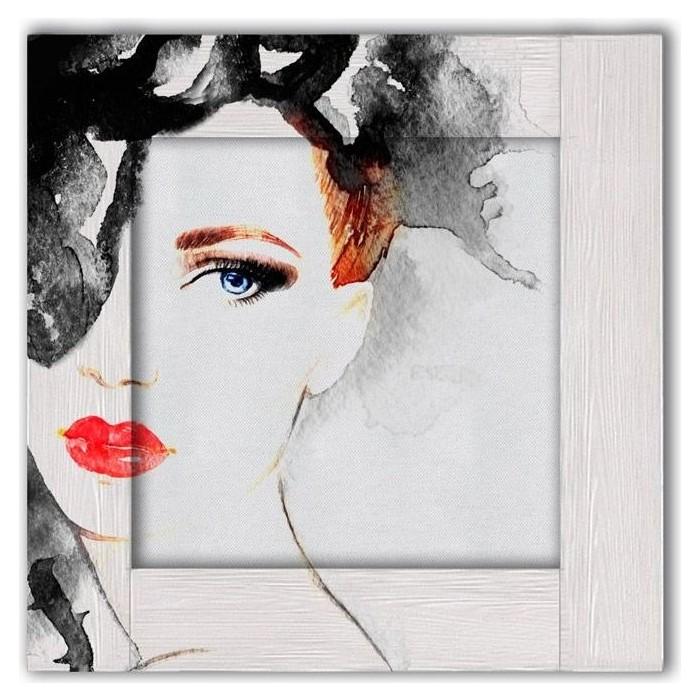 Картина с арт рамой Дом Корлеоне Кэрол 55x55 см настенное зеркало дом корлеоне зеленая долина 55x55 см
