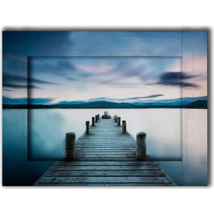 Картина с арт рамой Дом Корлеоне Лейк Дистрикт 80x100 см
