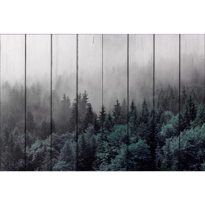 Картина на дереве Дом Корлеоне Лес 80x120 см