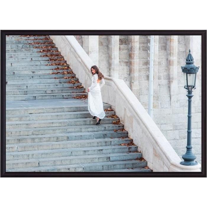 Постер в рамке Дом Корлеоне Лестница 21x30 см