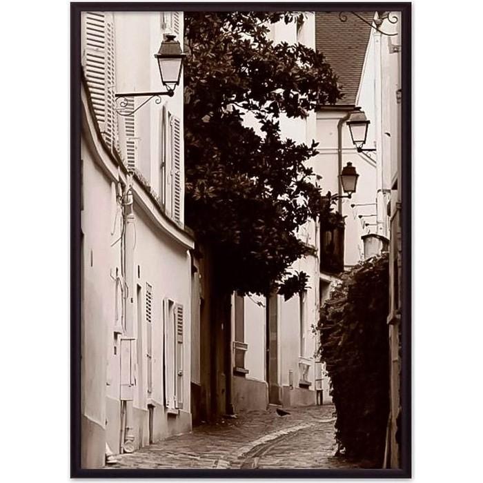 Постер в рамке Дом Корлеоне Лестница Монмартр 21x30 см