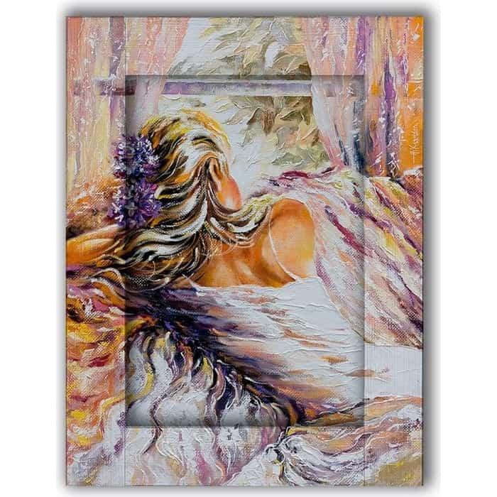 Картина с арт рамой Дом Корлеоне Летние грезы 60x80 см
