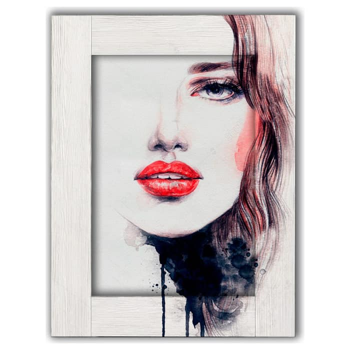 Картина с арт рамой Дом Корлеоне Лик девушки 70x90 см