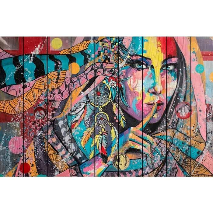 Фото - Картина на дереве Дом Корлеоне Ловец снов 40x60 см картина на дереве дом корлеоне кофейный магазин 40x60 см