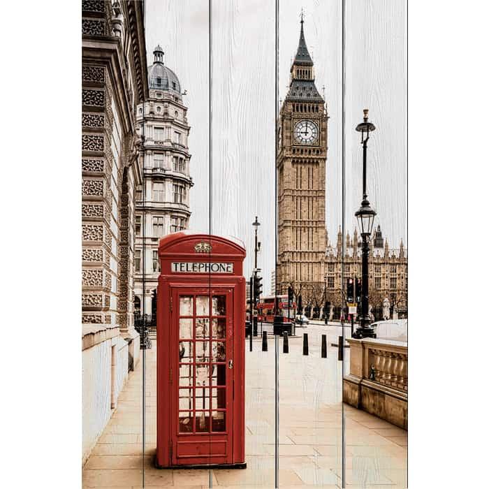 Фото - Картина на дереве Дом Корлеоне Лондон 40x60 см картина на дереве дом корлеоне кофейный магазин 40x60 см