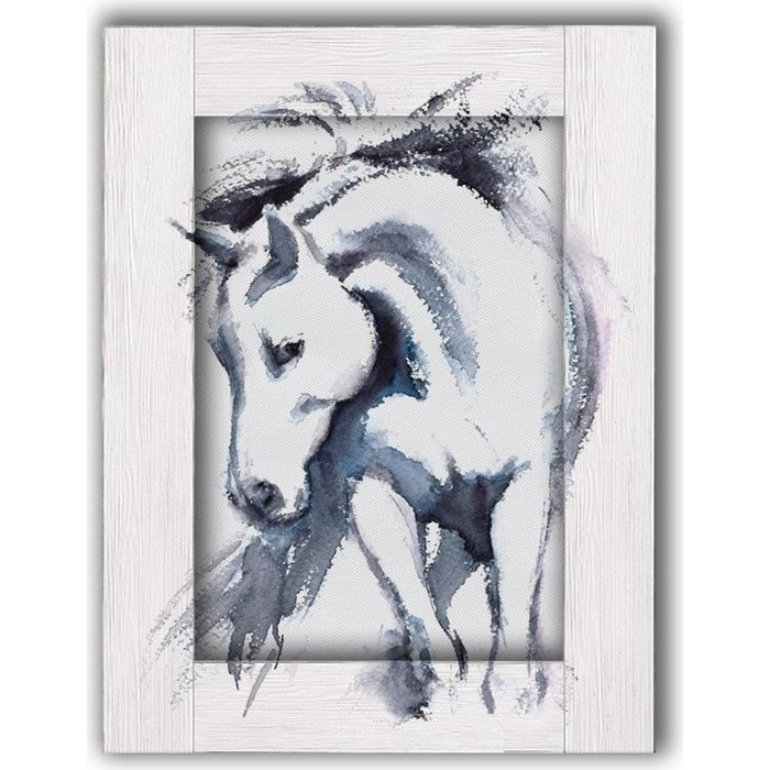 Картина с арт рамой Дом Корлеоне Лошадь 45x55 см картина с арт рамой дом корлеоне нотр дам 45x55 см