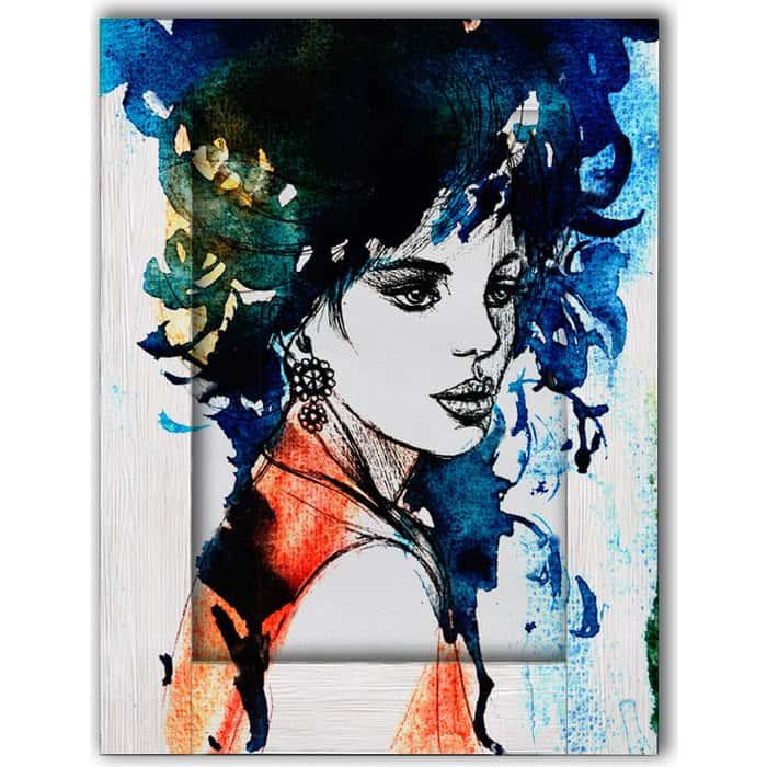 Картина с арт рамой Дом Корлеоне Луиза 80x100 см