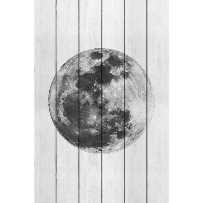 Картина на дереве Дом Корлеоне Луна 60x90 см картина на дереве дом корлеоне трамвай 60x90 см