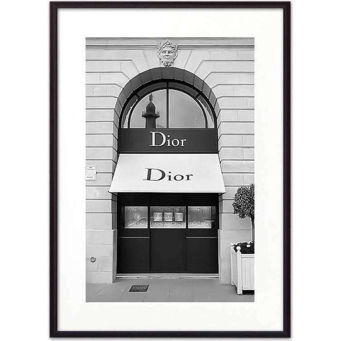 Постер в рамке Дом Корлеоне Магазин Диор 21x30 см