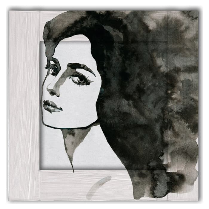 Картина с арт рамой Дом Корлеоне Мадлен 55x55 см настенное зеркало дом корлеоне зеленая долина 55x55 см
